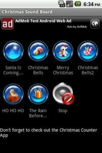 Christmas Sound Board Screenshot